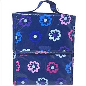 Vera Bradley Lunch Sack - Ellie Flowers